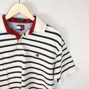 Tommy Hilfiger Vintage Big Flat Striped Polo
